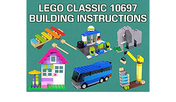 Amazon Lego Classic 10697 Building Instructions Id