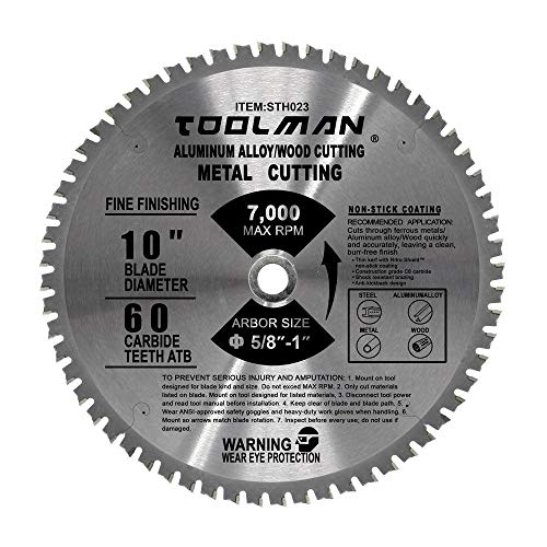 Toolman Circular Saw Blade Universal Fit 10
