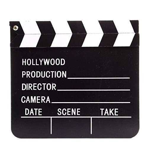 Movie Clapboard Clapper - Hollywood Directors Prop (7
