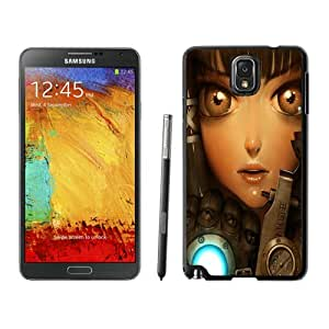 New DIY Personalized Geared Up Samsung Galaxy Note 3 Black Phone Case CR-241