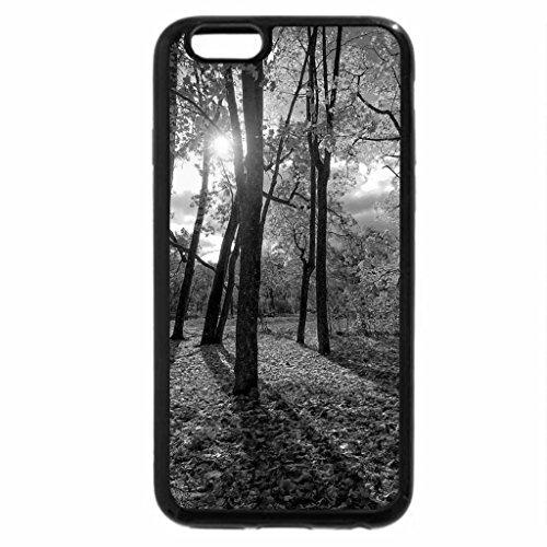 iPhone 6S Case, iPhone 6 Case (Black & White) - Autumn