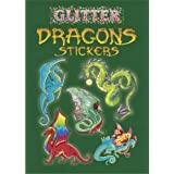 Glitter Dragons Stickers