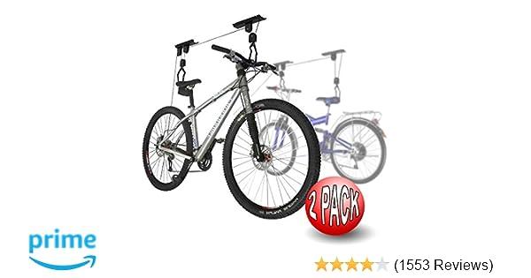 2004 2-Pack RAD Cycle Products Bike Lift Hoist Garage Mtn Bicycle Hoist 100LB