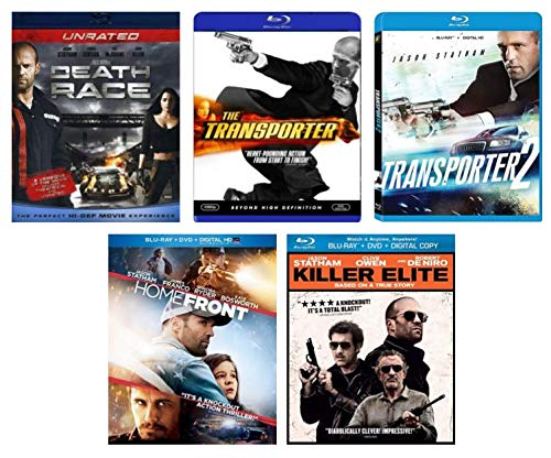 (Ultimate Jason Statham 5-Film Blu-ray Collection: The Transporter / The Transporter 2 / Killer Elite / Homefront / Death Race[Bluray])