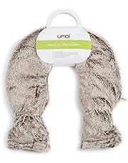 Premium Kruik voor nek en schouder PVC met een zachte, hoogwaardige hoes met extra binnenvoering en klittenbandsluiting, niew model (Bruin)