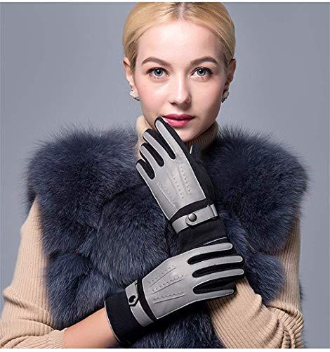 Mittens Chic Driving Fodera Hx Invernali Sportivi Warm Da Ragazza Screen Touch Fashion 3 Velluto Guanti Donna AzU7SAwq