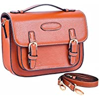 Sunmns Retro Vintage Style PU Leather Case Bag with Shoulder Strap for Fujifilm Instax Mini 8/ 8+/ 70/ 50/ 7s/ 26+/ 90/ 25 Film Camera, Polaroid ZIP/ Z2300/ Snap
