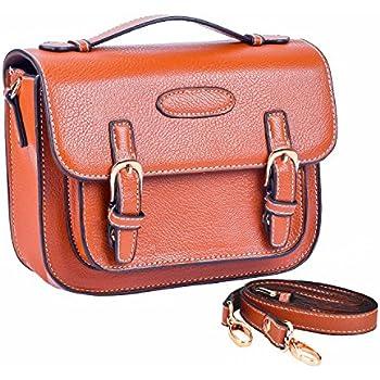 988b5c53e655 Woodmin Brown Retro PU Leather Fuji Instax Mini Camera Case For Fujifilm  Instax Mini 7s