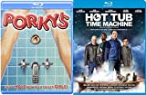 Hot Tub Time Machine Unrated + Porky's ... Blu Ray Fun Comedy movie 2 Pack Set