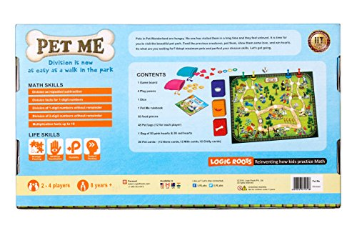 Logic Roots PET ME Multiplication And Division Game Stem Toy For Boys And Girls