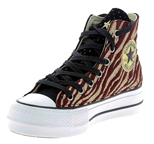 562915c Glitter Platform Ctas Edition Lift Limited Clean Canvas Converse fa8TT