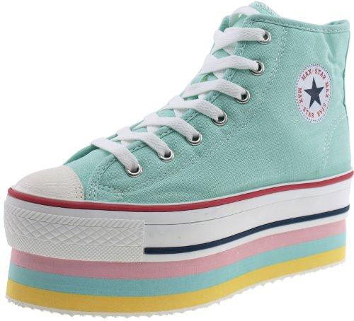 Maxstar  CN9-8H,  Damen Sneaker Low-Tops Mintgrün