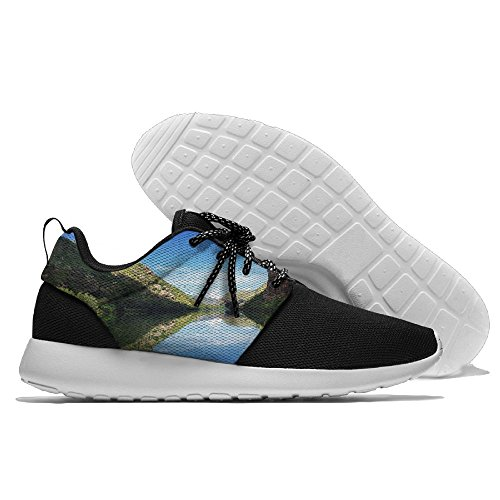 River With Castle Peak Casual Runner Shoes Sneakers Mens