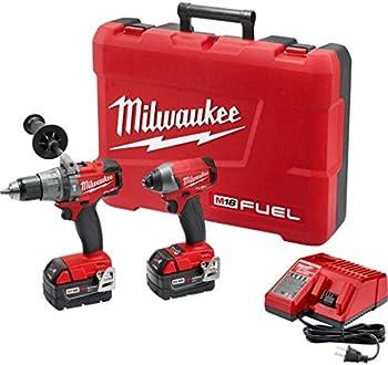 Milwaukee M18 FUEL 18V Cordless Hammer Drill/Impact Driver Kit