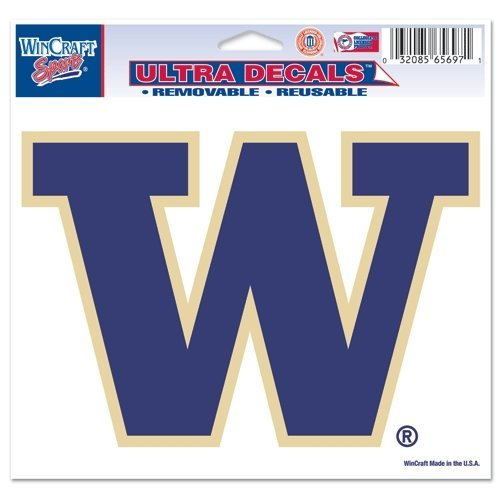 (WinCraft NCAA University of Washington Multi-Use Colored Decal, 5