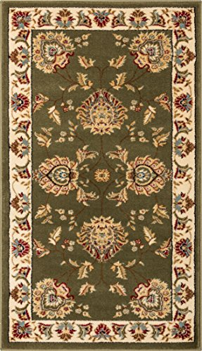 Well Woven Timeless Abbasi Green Traditional Area Rug 2'3