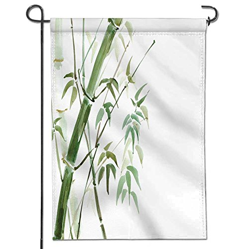 AmaPark Patriotic Garden Flag,Double-Sided,Bamboo Grove Watercolor Illustration Yard Flag to Brighten Up Your Home 12