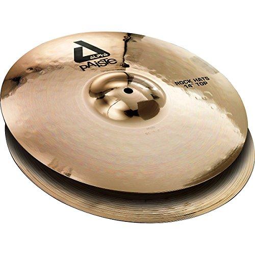 UPC 697643108875, Paiste Alpha Brilliant Cymbal Rock Pair Hi-Hat 14-inch