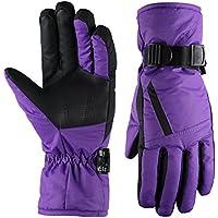Fazitrip Womens 3M Thinsulate Ski Gloves
