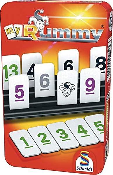 Schmidt Spiele My Rummy: Amazon.es: Juguetes y juegos