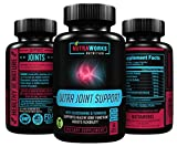 Ultra Joint Support Supplement - Glucosamine with Chondroitin, Turmeric, Bosweilla & MSM - Anti-Inflammatory & Antioxidant Pills for Aches & Soreness. Helps Back, Knees, Hands & Joints for Men & Women