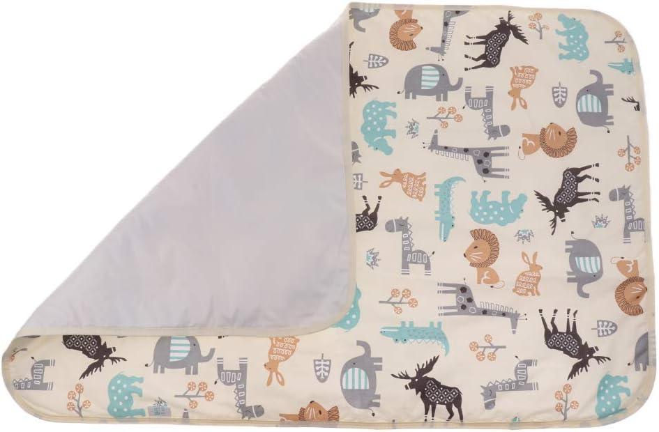 Cheval Kits de Change Baoblaze B/éb/é Infant Imperm/éable Matelas /à Langer Promenade Lavable Matelas Tapis /écologique Cotton pour Voyage