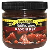 Walden Farms Calorie free –Marshmallow, Chocolate & Caramel Dip and Raspberry & Strawberry Spreads - Calorie Free Carb Free - 1 Jar Each