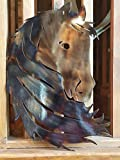 Horse Silhouette / 12w x 18h / quality metal art / 14 ga steel