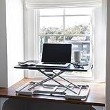 intelliDREAM Adjustable Height Standing Desk Riser (Black)