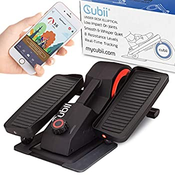 Image of Cubii Pro - Seated Under-Desk Elliptical - Get Fit While You Sit - Bluetooth Enabled, Sync with Fitbit and Apple HealthKit - Whisper-Quiet - Adjustable Resistance - Easy to Assemble