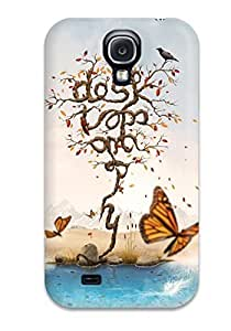 Ultra Slim Fit Hard JoelNR Case Cover Specially Made For Galaxy S4- Artistic