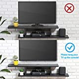 FITUEYES Wall Mounted Media Console,Floating TV
