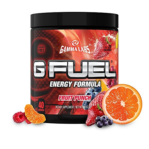 G Fuel Fruit Punch Tub (40 Servings) Elite Energy and Endurance Formula