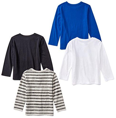Amazon Brand - Spotted Zebra Boys Long-Sleeve T-Shirts