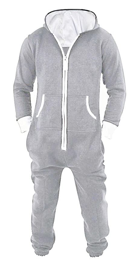 ea389dd306a Amazon.com  SKYLINEWEARS Men s Unisex Onesie Jumpsuit One Piece Non Footed  Pajama Playsuit  Clothing