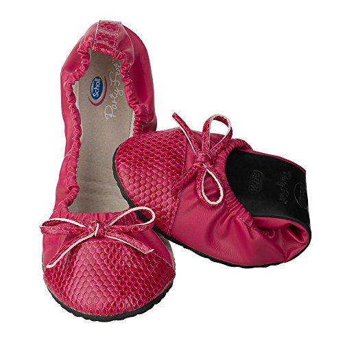 PARTY FEET POCKET BALLERINA RASPBERRY (39/40)