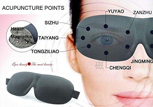 • 6E SAISON SANTÉ MAGNÉTIQUE SOMMEIL MASQUE. Obtenez une grande nuit de sommeil avec le masque de sommeil 6e SAISON santé. Ce masque pour les yeux blackout pour la nuit avec un confort digne des obscurité complète. 14 Pcs Bio-aimants pour réduire les yeux