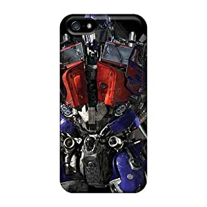 Awesome Transformers Optimus Prime Game Flip Case With Fashion Design For Iphone 5/5s by ruishername