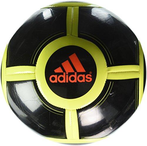 adidas Performance Ace Glider II Soccer Ball, Black/Solar Yellow/Solar Red, Size 5
