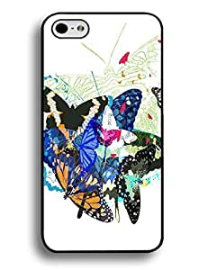Classic Various Butterfly Hard Phone Back Case for Iphone 6 (4.7 Inch)