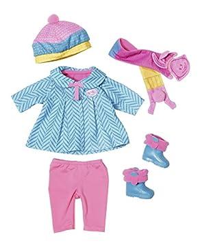 Zapf BABY born Boys Collection Juego de ropita para muñeca - Accesorios para muñecas (Juego de ropita para muñeca, 3 año(s), Multicolor, 43 cm, Niño, Chica)