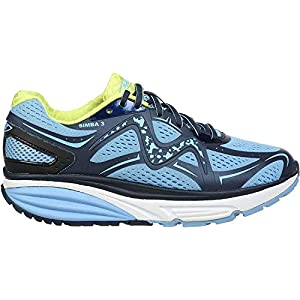 MBT 702028 Simba 3 W Women,Lace-Up Flats,Ladies Curved Sole Shoe,Walking Shoe,Casual Shoe 24