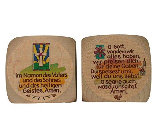 Gebetswürfel multicolore tischgebete **
