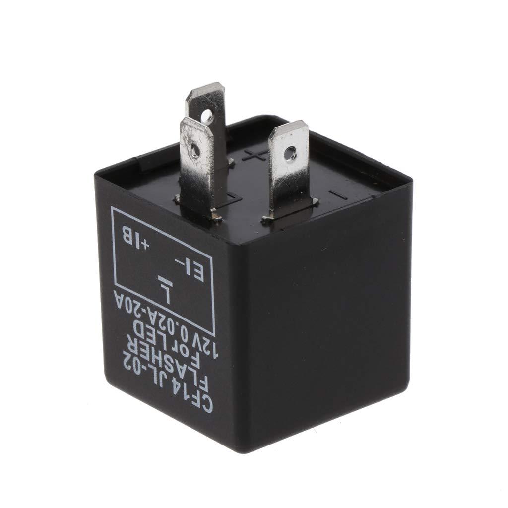 Numkuda 3 Pin Adjustable Cf14 Jl 02 Led Flasher Relay Powerful Fix Turn Signal Hyper Flash Issue Automotive