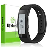 Sony SmartBand Talk Screen Protector, IQ Shield® LiQuidSkin (6-Pack) Full Coverage Screen Protector for Sony SmartBand Talk (SWR30) HD Clear Anti-Bubble Film - with Lifetime Warranty