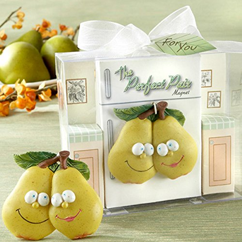 Beautiful Adorable Perfect Pair Refrigerator Magnet in Retro - Perfect Magnet Pair Refrigerator