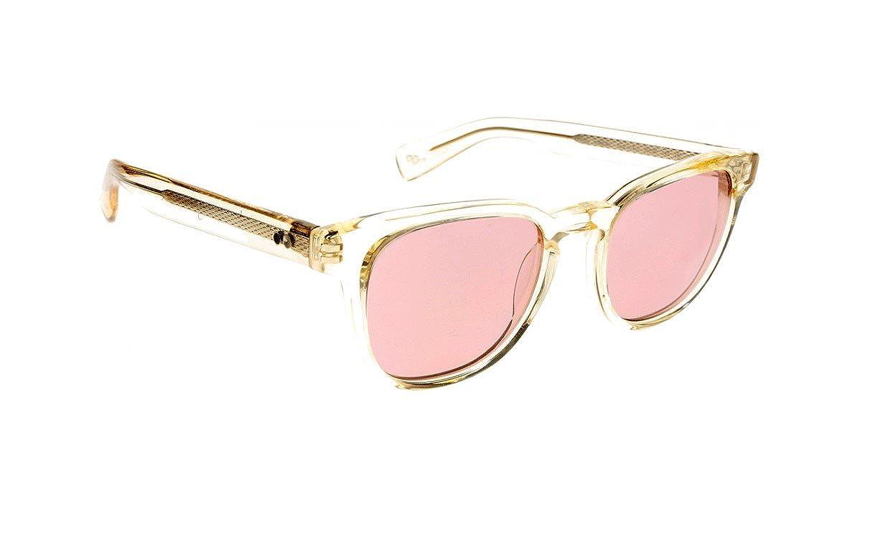 9153345d4c Paul Smith Hadrian PM8230SU - 1040 84 Sunglasses Transparent Light Yellow  Frame w  Light Violet 50mm at Amazon Women s Clothing store