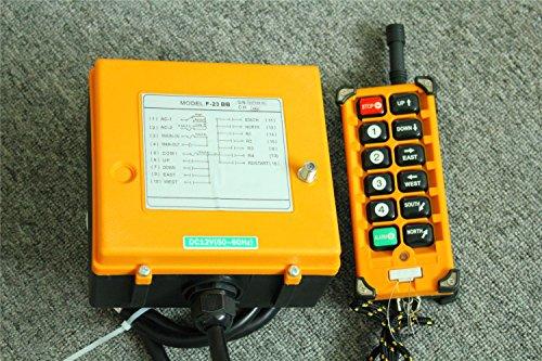 F23-BB Single Emitter Hoist Crane Radio Wireless Remote Control DC 12V US Shipping (Radio Controls Crane)