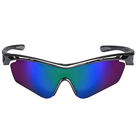 1f5a87ed5 KastKing COSO Sport Sunglasses, 4 Interchangeable Colors with 2 Polarized  Lenses, Ultimate Safety Impact