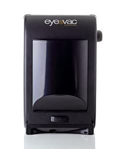 Eye-Vac EVPRO Tuxedo Black Touchless Stationary Vacuum – 1400 Watts Professional Vacuum with HEPA Filtration, Bag-less Canister. Floor Care (Renewed)
